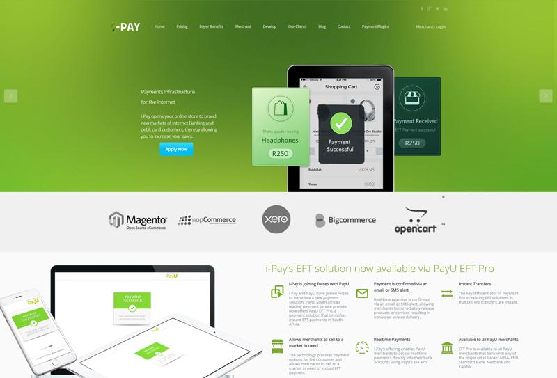 Startup i-Pay header